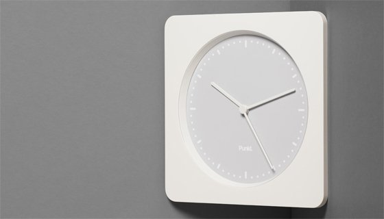 CC 01 Corner Clock with Punkt. design