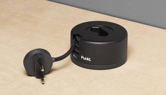 ES 02 Extension Socket with Punkt. design