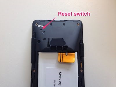 Mp01 faq punkt remove the sim card then open the battery cover and push reset button with a paperclip fandeluxe Gallery