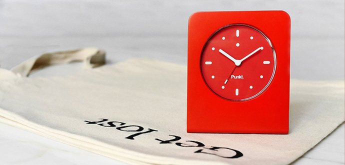 AC01 alarm clock red
