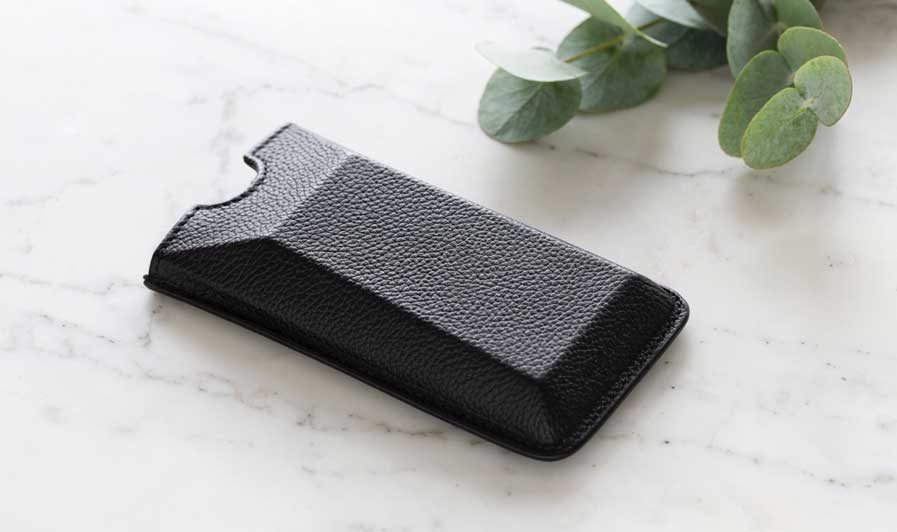Leather case for mp01
