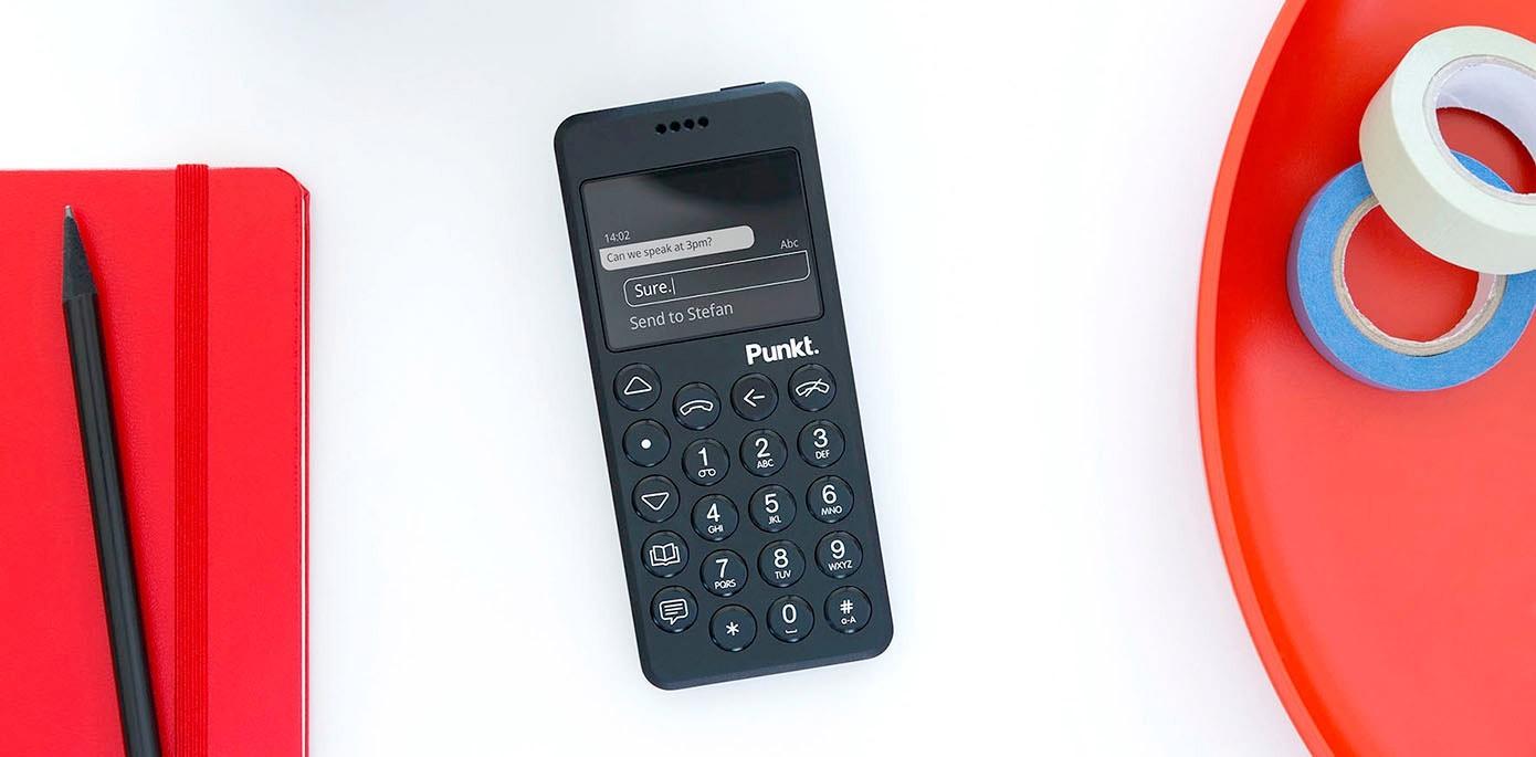 Punkt. MP02 最高のセキュリティーを備えた携帯