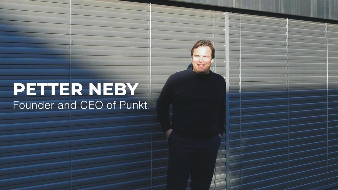 ぺたー・ネビ ― Punkt.の設立者&CEO