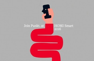 Punkt. and «ECAL x Punkt.» at HOMI Smart 2016, Milan, Italy