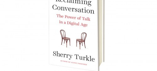 The MP 01 Pre-Order Book: Reclaiming Conversation by Sherry Turkle.