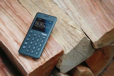 Punkt. Presents the MP 01 Mobile Phone, designed by Jasper Morrison