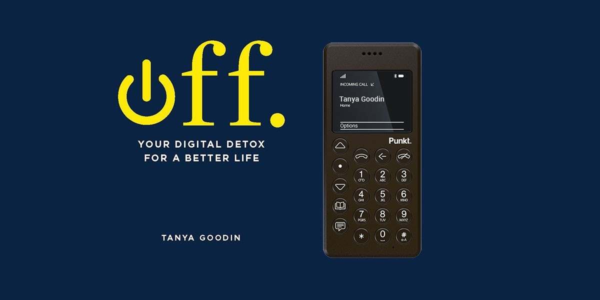 Punkt. / Time To Log Off competition: digital detox books and MP 01s to be won